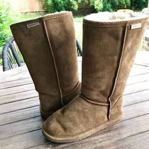 "[BearPaw] ""Emma Tall"" Brown Winter Boots"